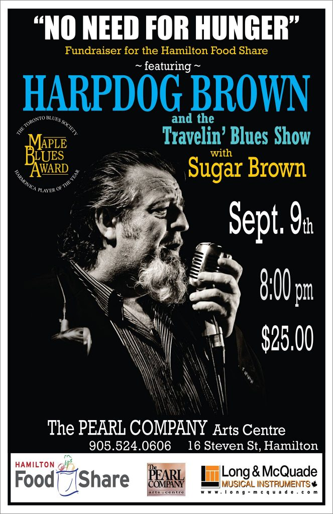 Harpdog Brown Travelin' Blues Show