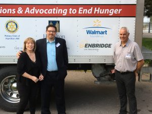 2 Reps from Enbridge with Joanne Santucci