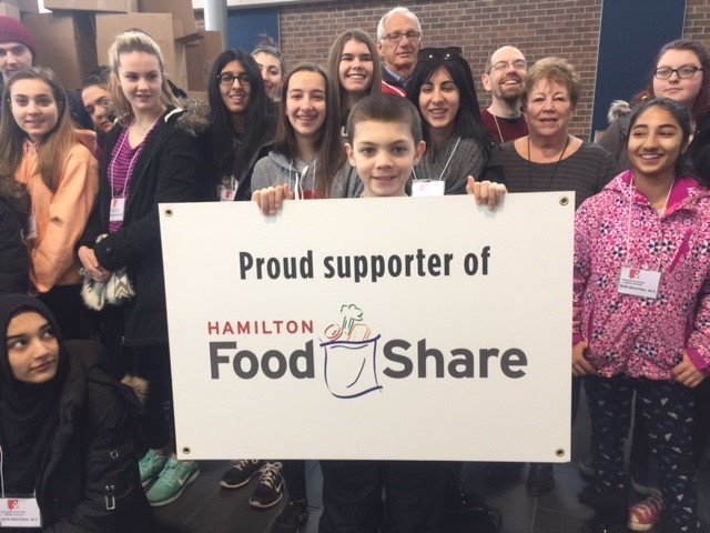 Hamilton East-Stoney Creek Student Food Drive