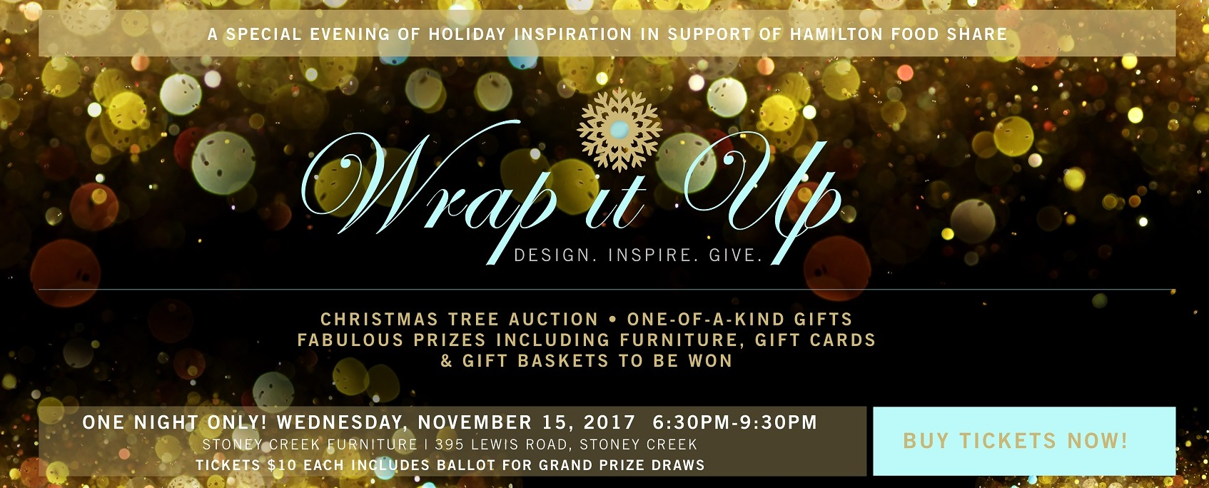 Stoney Creek Furniture Wrap It Up 2017