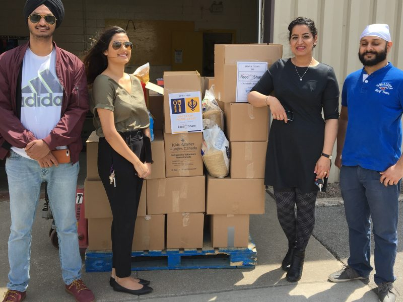 Sikh Heritage Month Food Drive