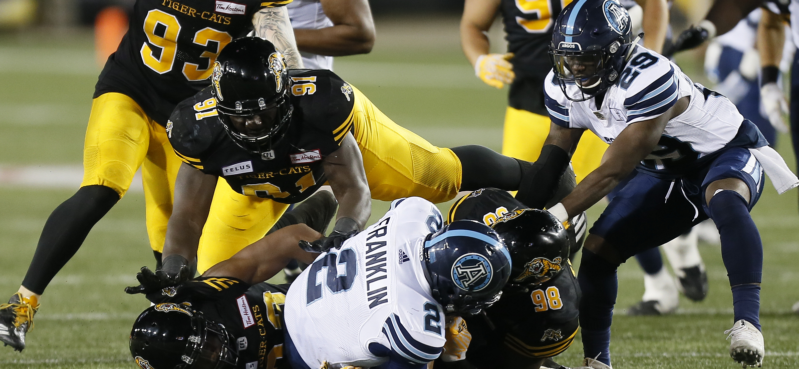 Ticats tackle hunger and Argos on Labour Day
