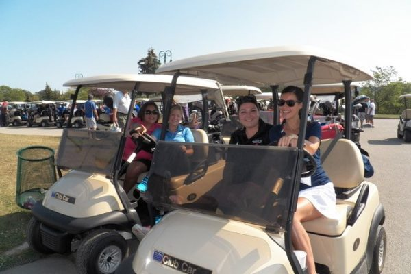 Golfers at Chuggy's Golf Tournament
