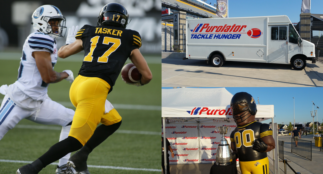 Purolator Tackle Hunger Banner
