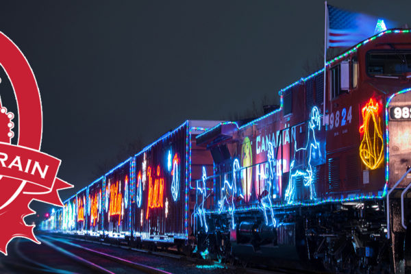 CP Holiday Train and Logo